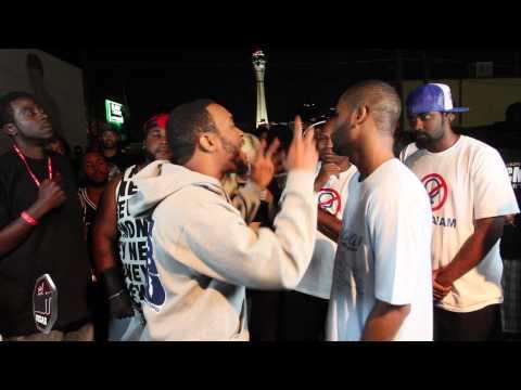 Rap Battle Lotta Zay vs Krucial Ken   New Jersey vs Kentucky   AHAT