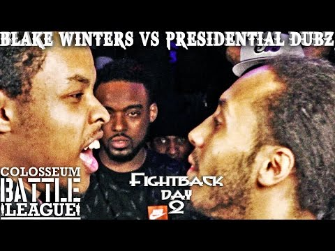The Colosseum Battle League - Fightback Day2 - Presidential Dubz vs Blake Winters