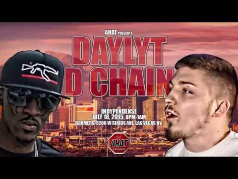 Daylyt vs D Chain AHAT Rap Battle