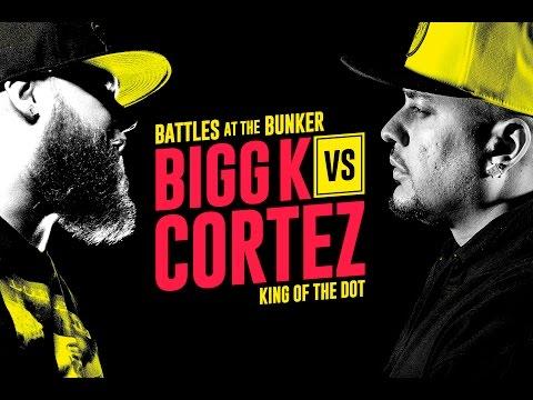 KOTD - Rap Battle - Bigg K vs Cortez