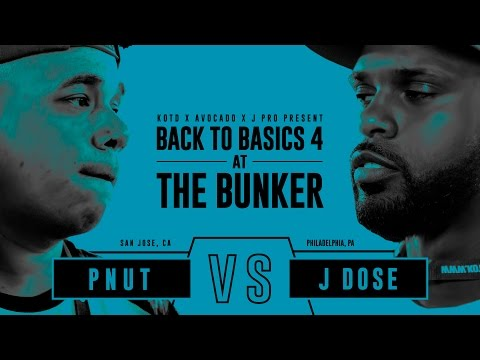 KOTD - Rap Battle - Pnut vs J Dose | #B2B4