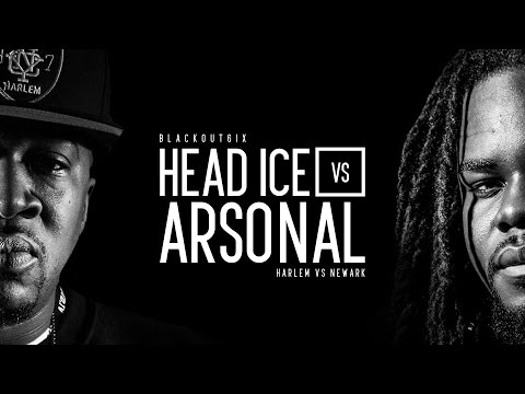 KOTD - Rap Battle - Head ICE vs Arsonal | #BO6ix