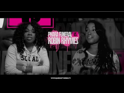 PHARA FUNERAL vs ROBIN RHYMES QOTR presented by BABS BUNNY & VAGUE