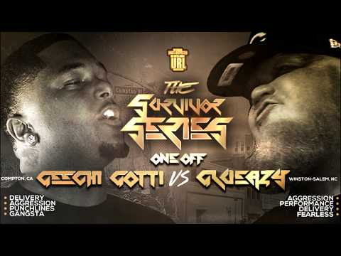 GEECHI GOTTI VS GLUEAZY SMACK/ URL RAP BATTLE