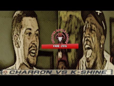 K Shine vs Charron   BullPen Battle League