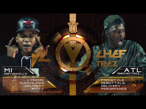 JC VS CHEF TREZ SMACK/ URL RAP BATTLE