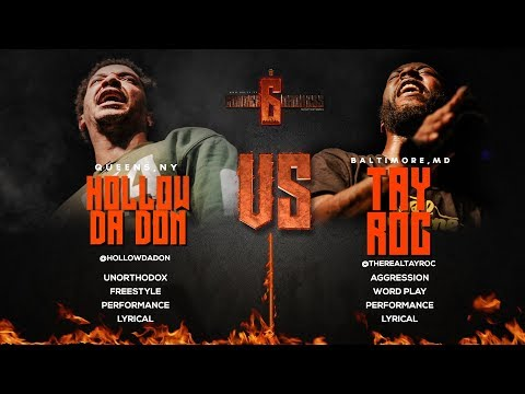 HOLLOW DA DON VS TAY ROC SMACK/ URL RAP BATTLE