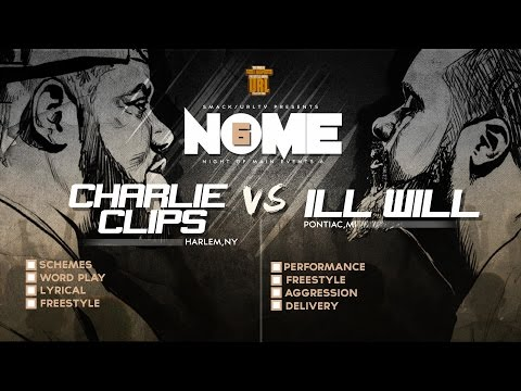CHARLIE CLIPS VS ILL WILL SMACK/ URL RAP BATTLE