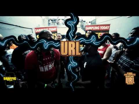 HA DOUBLE VS STUEY NEWTON SMACK/ URL RAP BATTLE
