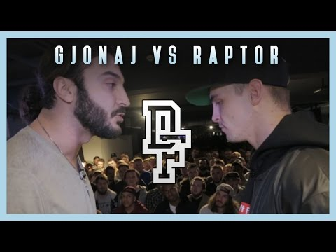 GJONAJ VS RAPTOR WARHURST | Don't Flop X Crep Protect Rap Battle