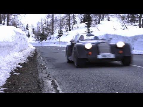 New Morgan Plus 8: The Adventure Road Test - CHRIS HARRIS ON CARS