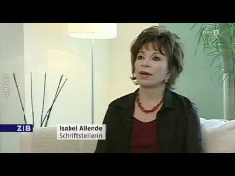 Isabel Allende ZIB 03-08-2012