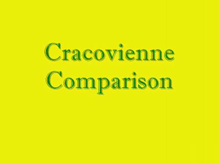 Cracovienne Comparison