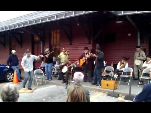 Harpers Ferry Violin, Bones and Banjo Workshop Performance