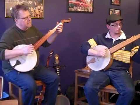 Minstrel Banjos the Graybell Bros with Terry Bell