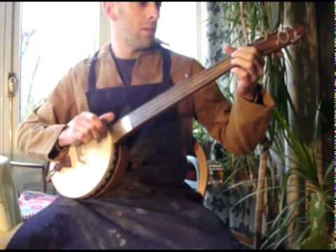 Alabama Joe Grain measure banjo