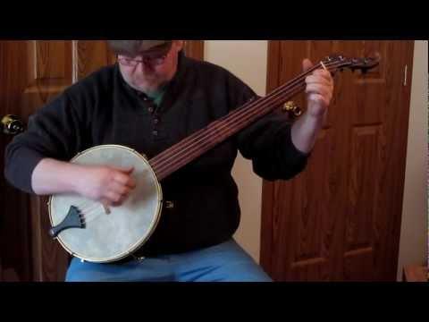 Bell Minstrel Banjo - William Boucher Replica - Stroke Style