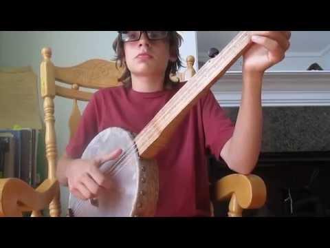 Camptown Hornpipe ~ Minstrel Banjo (5/12/2014 Progress.)