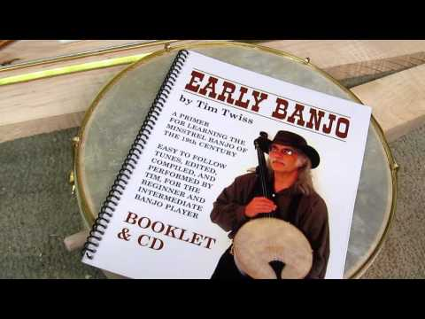Bell Boucher Minstrel Banjo Kit / Tim Twiss Instruction Book & CD