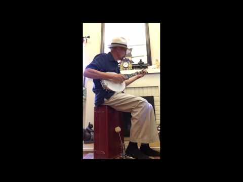Early Minstrel tune, Dance Boatman Dance, played on a 1900 S.S. Stewart Special Thoroughbred banjo.