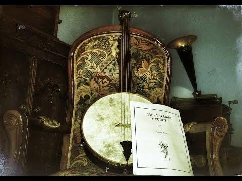 "Early Banjo Etudes VOL 1 ""Tim Twiss"" etude 10 ""étrange discussion """