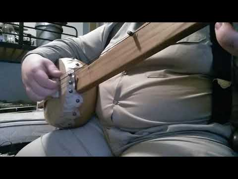 Melon Jig on early gourd banjo using classic style.
