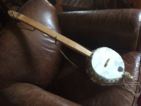 Uncle Gabriel played on Jeff Menzies #306 plantation banjo.