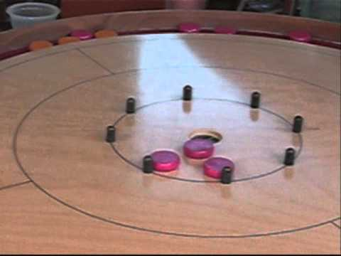 Crokinole Skill Shot for 2011 Tavistock