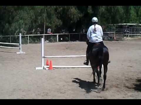 Jumping Lesson - Lynn & Lani