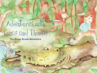 Book Trailer: Jon Peery's Adventures with Lucas and Thomas