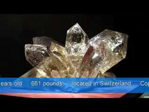 The biggest CRYSTAL ever found