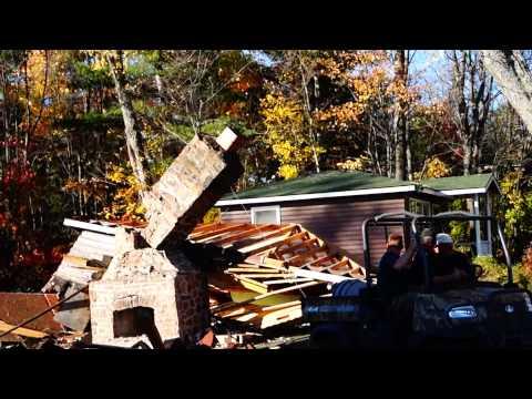 Lunge Lodge Cabin Demo 2013