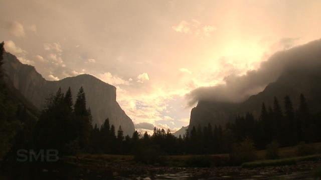 People in Yosemite: A TimeLapse Study