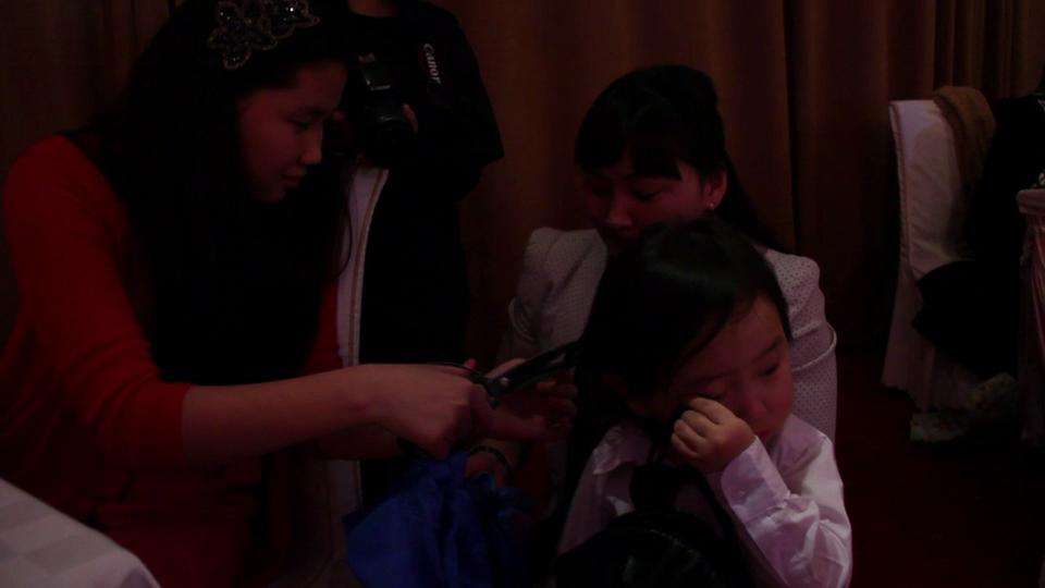 Mongolian Hair Cutting Ceremony