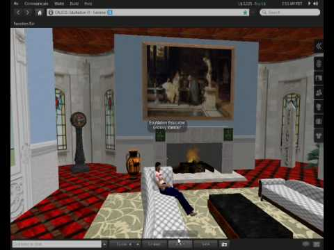 Holodecks at the CALICO/EUROCALL HQ in Second Life