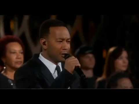 "John Legend and Common , ""Glory."" w/lyrics"