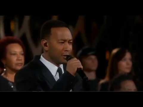"John Legend and Common , ""Glory."" w/lyrics"