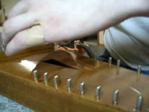 Winding String onto the Tuning Pin