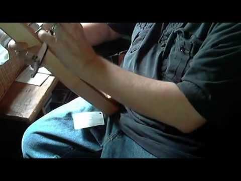 Left-handed 1 1/2   octave bowed psaltery--sacramentum caritatis