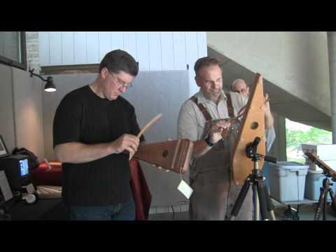 Bowed Psaltery Upside Down - Sweet Hour of Prayer - Tony Lee Glenn