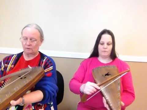 Joy to the World - bowed psaltery