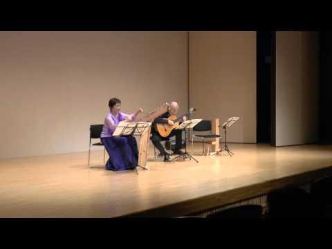 春の海(宮城道雄)プサルタリー&ゆる弦ギター(Psaltery& Guitar)