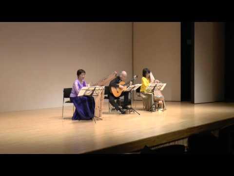 Le cygne(白鳥 サン=サーンス)プサルタリー&ゆる弦ギター(Psaltery& Guitar)