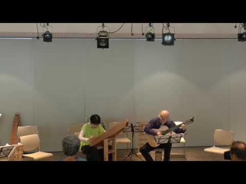 """フィッシャーズ ホーンパイプ Fishers Hornpipe プサルタリー&ギター""""SoLa"""""""