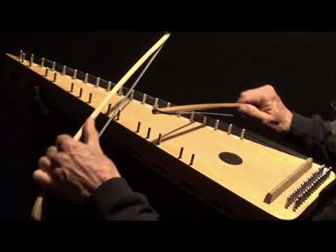 """""""COME THOU FOUNT"""" on Bowed Psaltery"""
