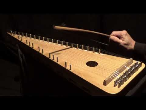"""""""THE SEVEN STEP"""" on Bowed Psaltery"""