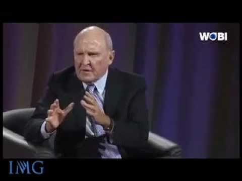 IMG Speakers Presents: Jack Welch, Founder of the Jack Welch Management Institute
