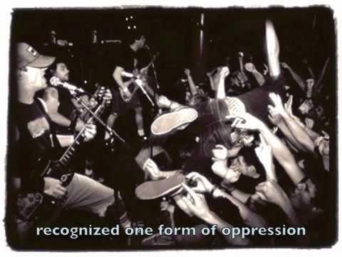 Propagandhi - Nailing Descartes To The Wall (Lyrics on screen)