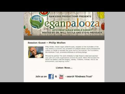 Philip Wollen's interview Veganpalooza 2012