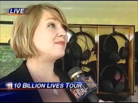 10 Billion Lives Tour - Live TV Interview in Sacramento